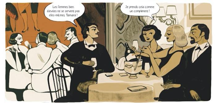 Tamara de Lempicka de Virginie Greinier et Daphné Collignon Tamaralempicka2