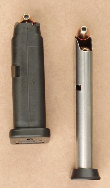L'armée suisse et les Glock G26p9magfront