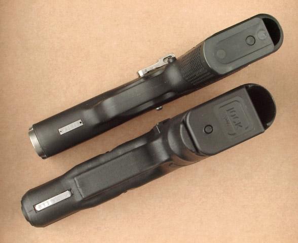 L'armée suisse et les Glock P9g26depth