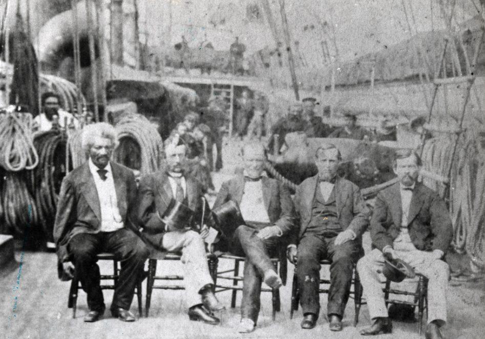 Frederick Douglass, Haiti, and Diplomacy  Key-west-uss-tennesse-e1486560396940