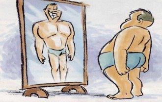 Fil de blagues sur les surdoués, les psy et quelques autres - Page 2 Miroirdeformable2
