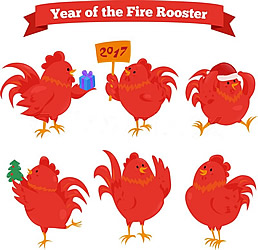 Chinese New Year Rooster-5