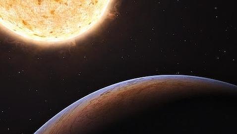 Descubren un planeta del tamaño de Júpiter que nació fuera de la Vía Láctea y terminó entrando en ella PLANETA--478x270