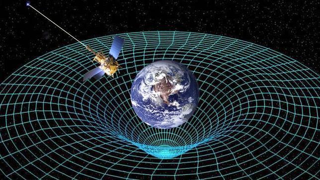 Einsten y otra teoria acertada: La grabedad terrestre deforma el espacio y tiempo Tierra_gravedad--644x362