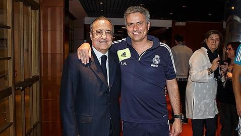 ¿Cuánto mide José Mourinho? - Altura - Real height Florentino-mourinho2--478x270