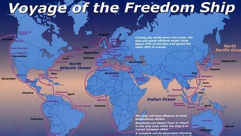 Freedom Ship : El barco-ciudad para 50.000 personas Voyage--478x270