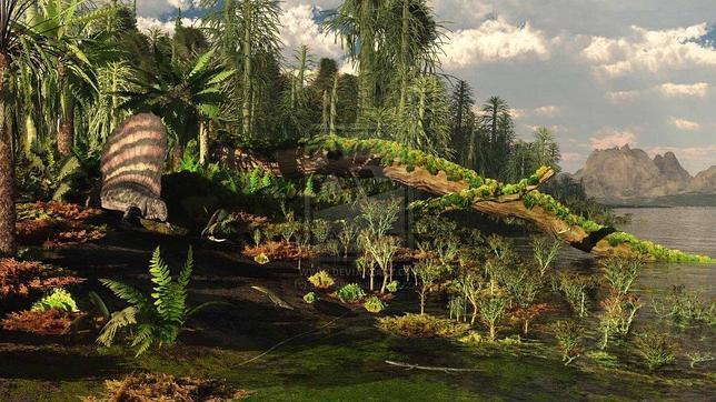 La mayor extinción de la Tierra ocurrió de forma «instantánea» Permian_landscape_by_adorety-d464v35--644x362