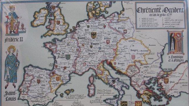 La Generalitat reconoce que Cataluña no existió como unidad histórica independiente Mapa_europa_1235--644x362