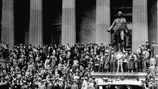 [Historia] «Martes negro»: 85 años de la caída más devastadora en la historia de Wall Street  Octubre-1929--644x362