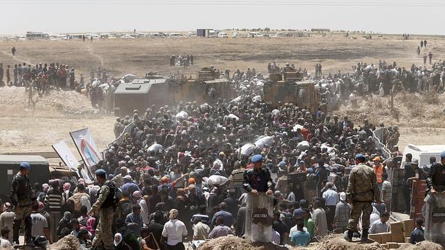 Siria. Imperialismos y fuerzas capitalistas actuantes. Raíces de la situación. [1] - Página 22 Refugiados-siria--644x362