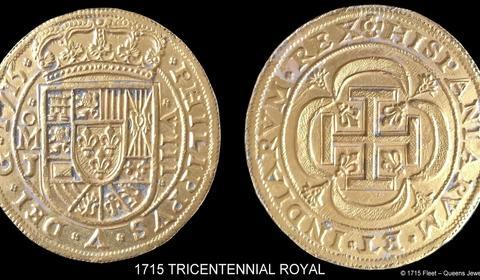 Hallado en Florida un tesoro de un barco español hundido en 1715 Monedas-barco--480x280