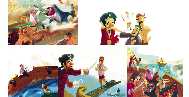 Jiwa et la Mason du Rhu Pirates