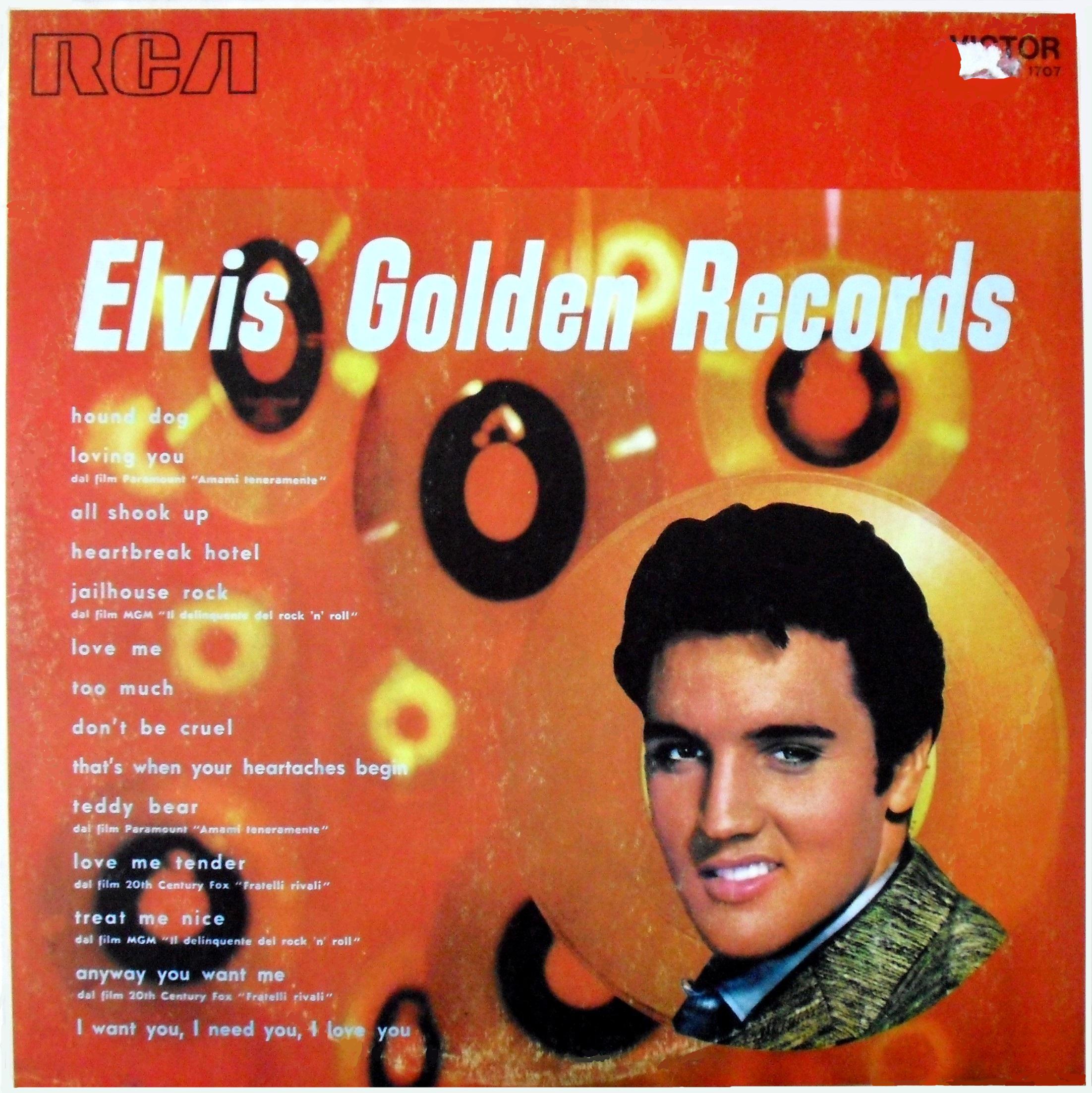 ELVIS`GOLDEN RECORDS  017qqbm