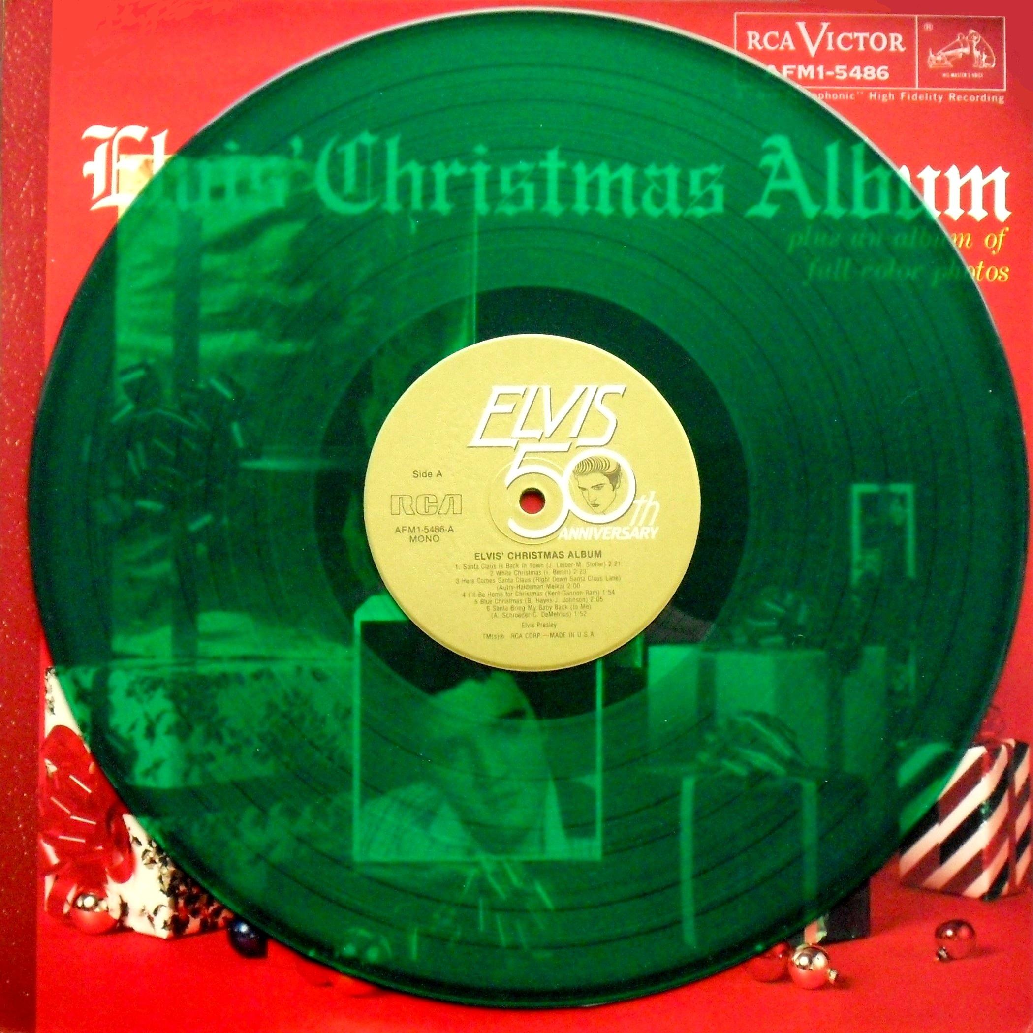 ELVIS' CHRISTMAS ALBUM 02n0if9