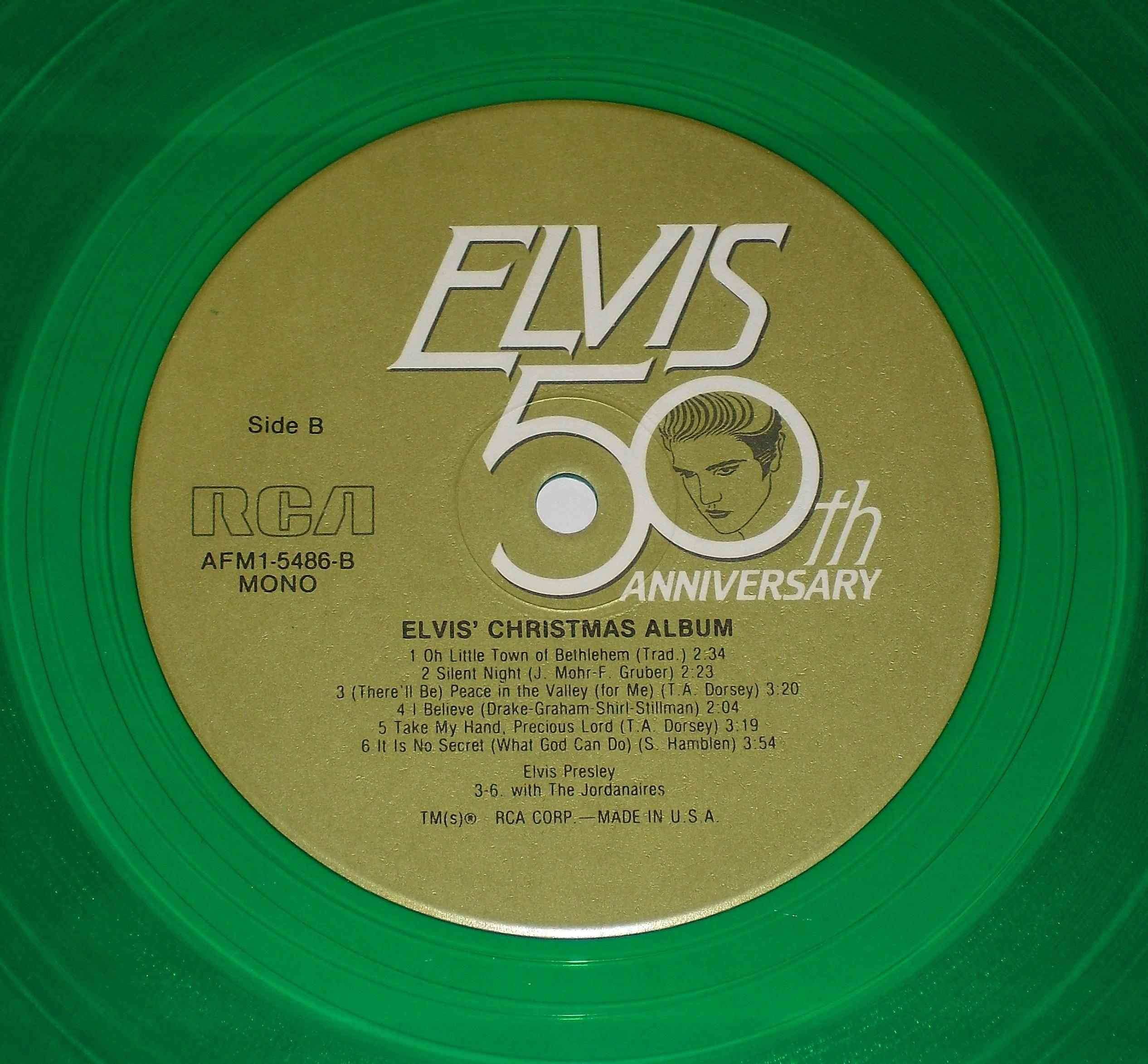ELVIS' CHRISTMAS ALBUM 03qccz7