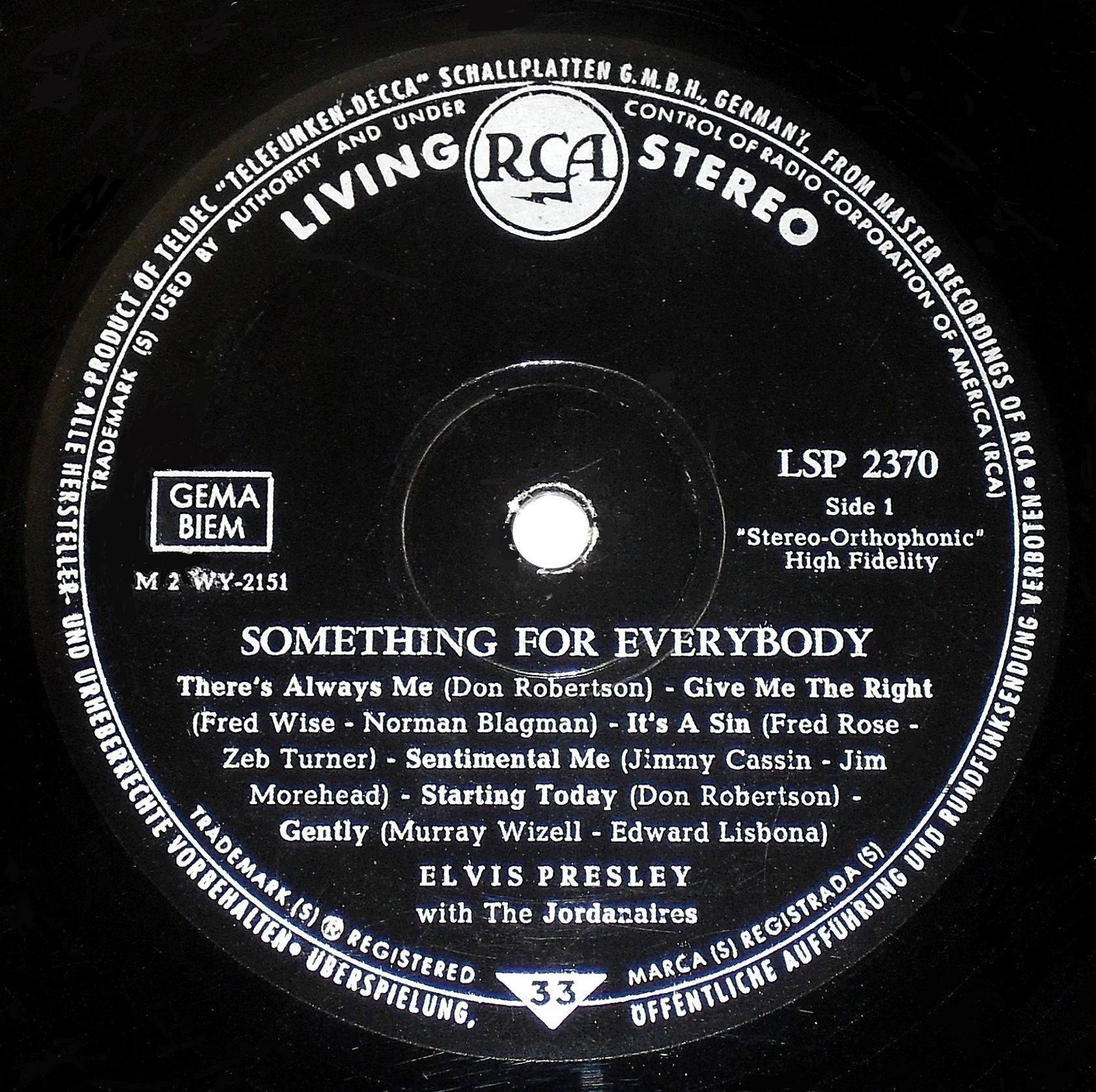 SOMETHING FOR EVERYBODY 03s1..61qrr