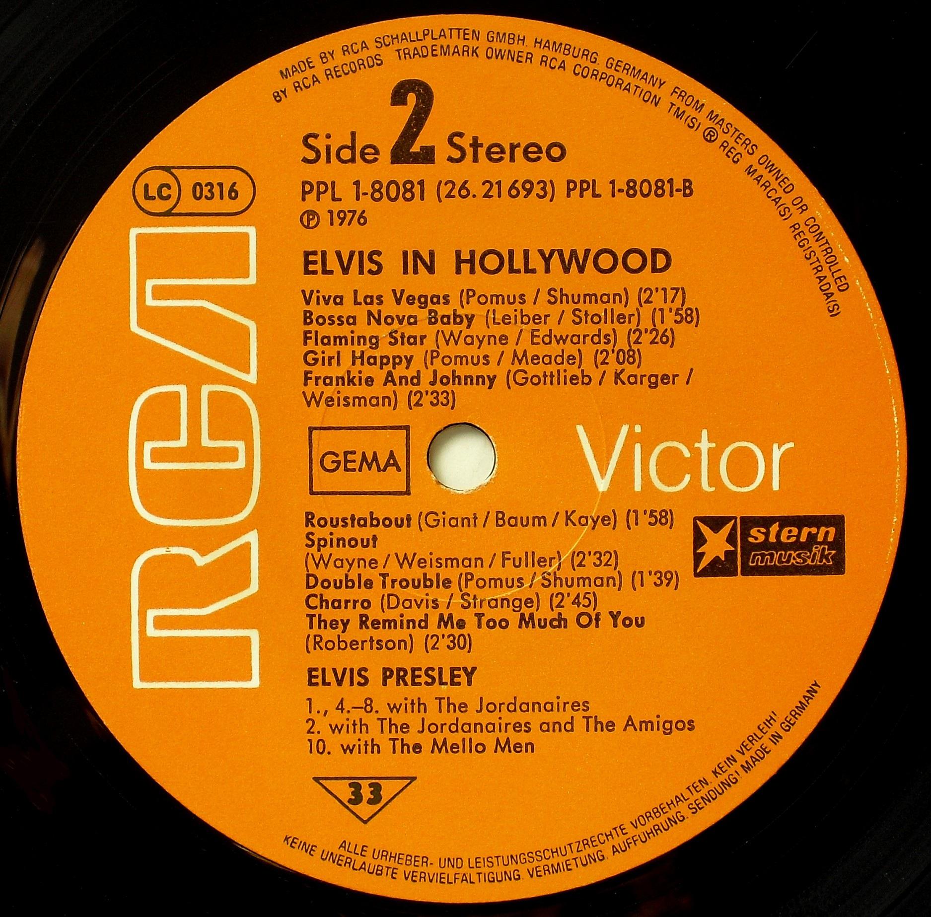 ELVIS IN HOLLYWOOD 03s2jau83
