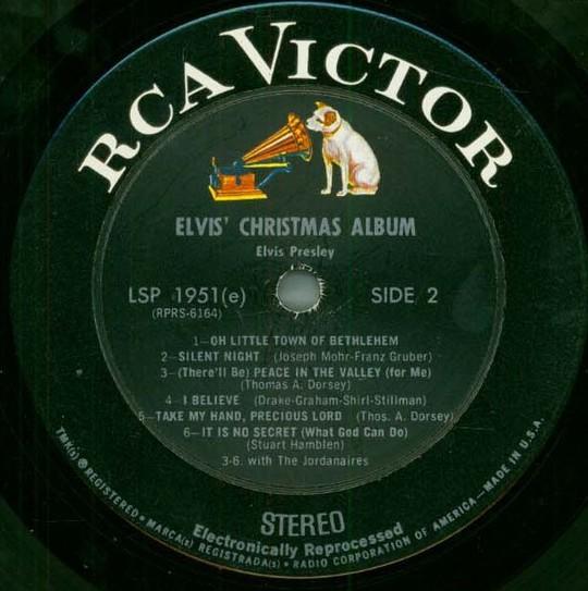 ELVIS' CHRISTMAS ALBUM 042pzza