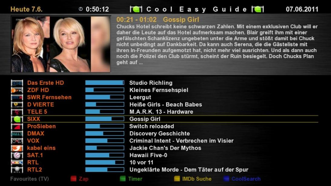 Cool TV Guide by Coolman 1cooleasyguidecfe3