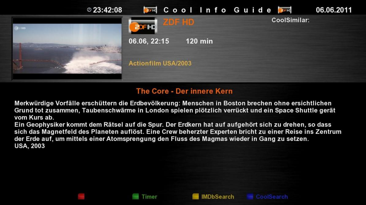 Cool TV Guide by Coolman 2coolinfoguidescor
