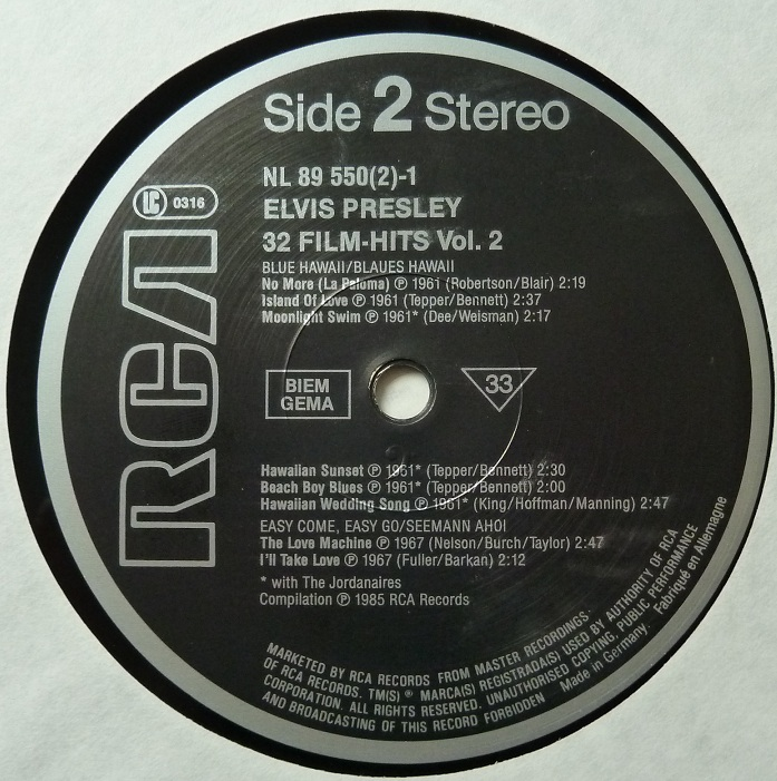 32 FILM HITS Vol. 2 32filmhitsvol2side2t1q5y