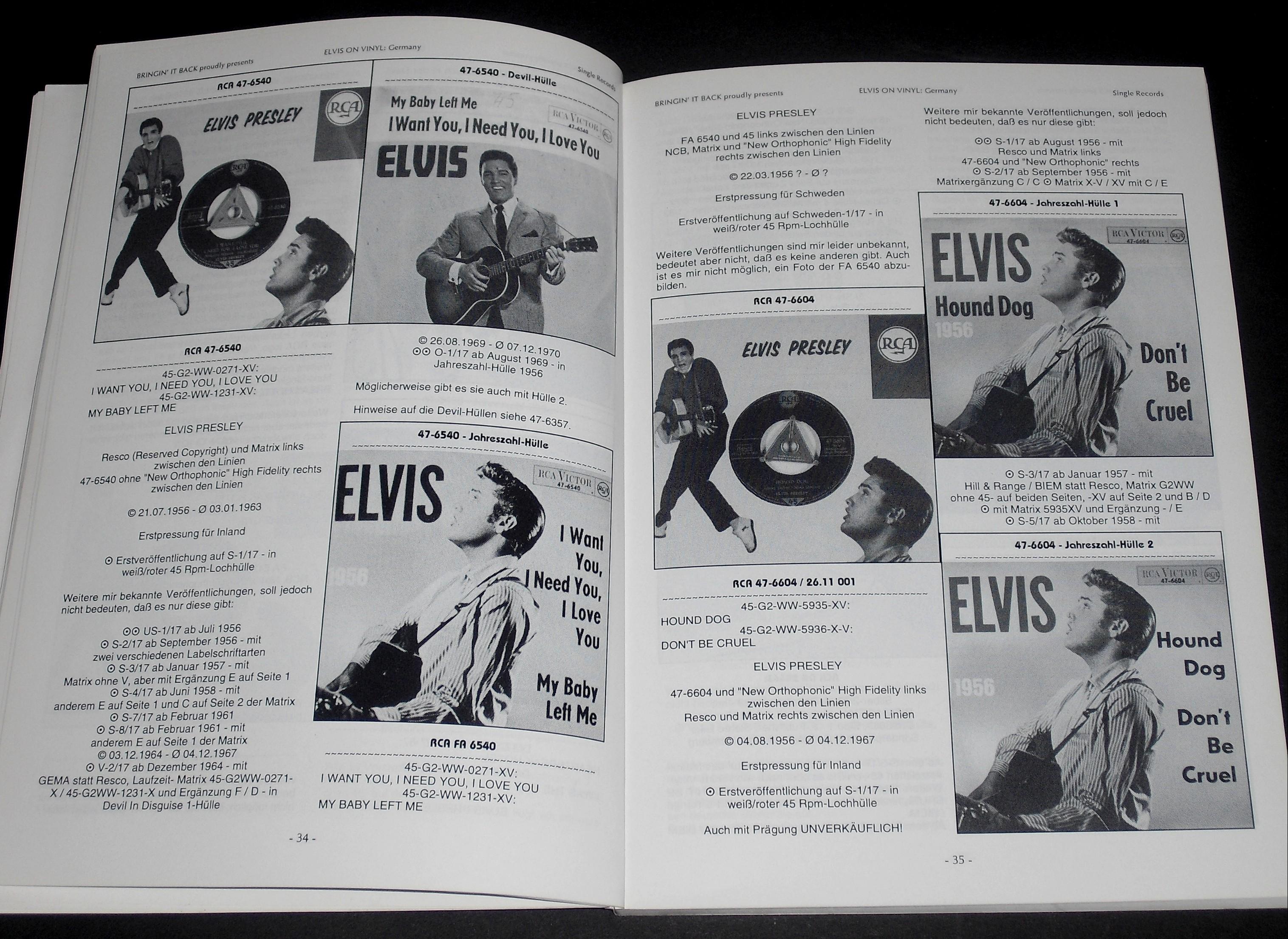 vinyl - ELVIS ON VINYL Teil 1 34_350wjdx
