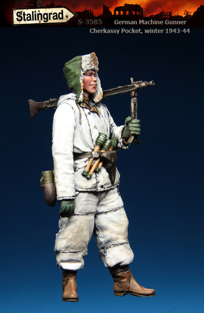 Resinfigures from Stalingrad. 3585-1toa3a
