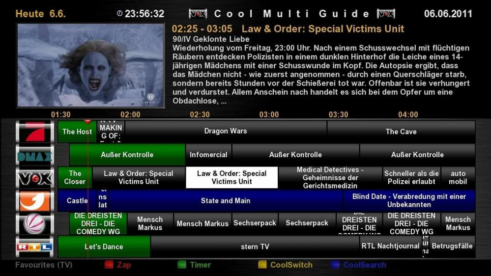 Cool TV Guide by Coolman 3coolmultiguidefcr5