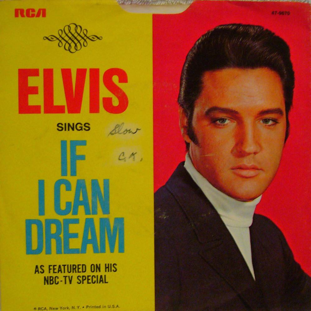 If I Can Dream / Edge Of Reality 47-6979az4rsx
