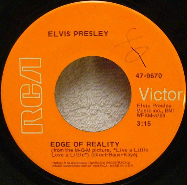 If I Can Dream / Edge Of Reality 47-6979d2mren