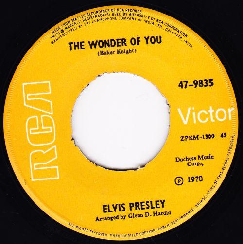 The Wonder Of You / Mama Liked The Roses 47-9835-1arfz5