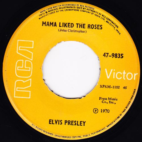 The Wonder Of You / Mama Liked The Roses 47-9835-2cyi1v