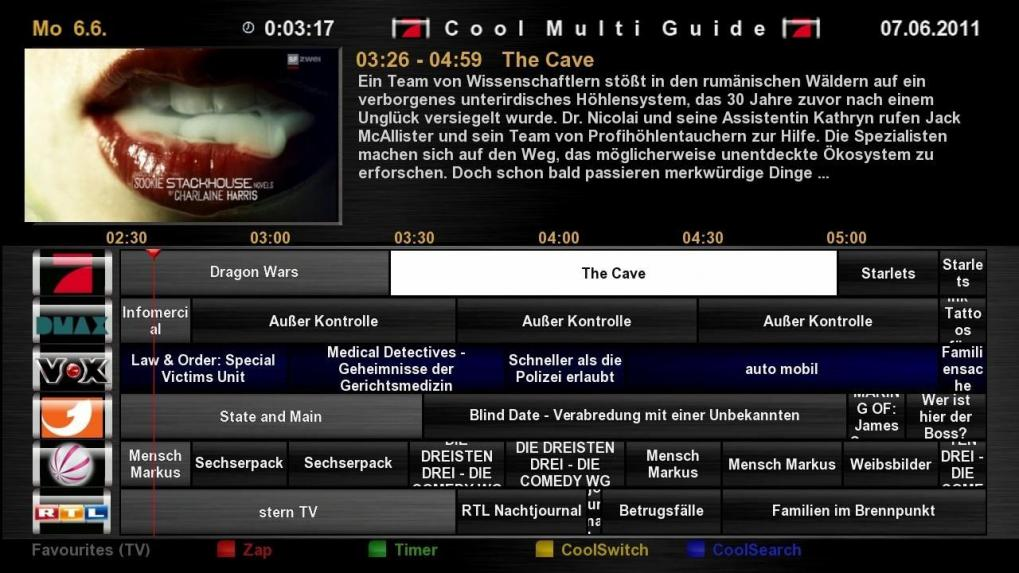 Cool TV Guide by Coolman 4coolmultiguidedesignogao