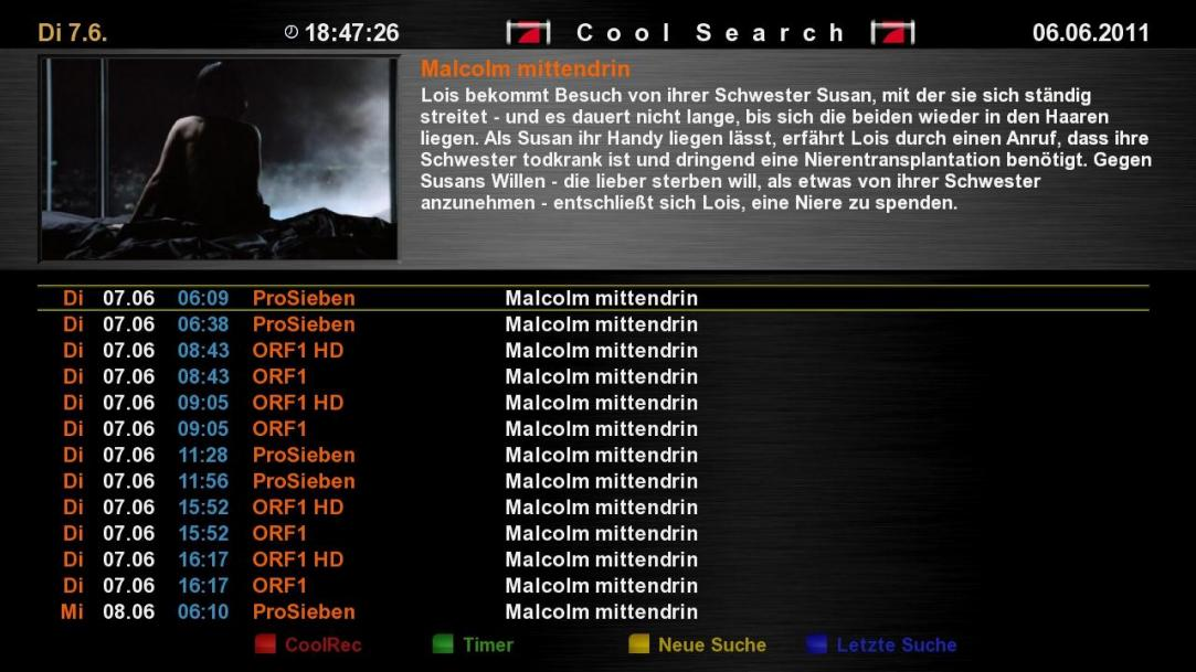 Cool TV Guide by Coolman 6coolsearchbg2v