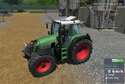Fendt Vario 820 Greentec (High Version) 820ah4dv