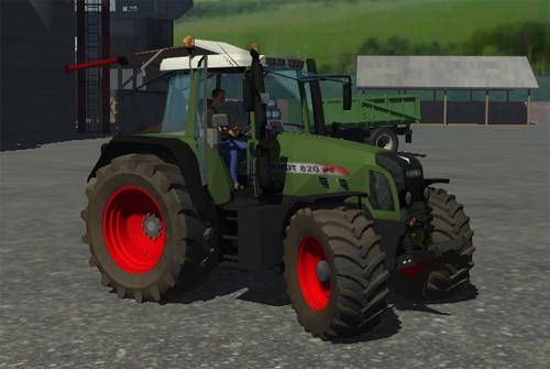 Fendt 820 Vario (Path Tractor) 820j8qrs