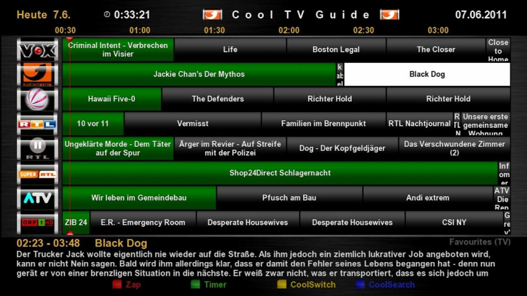 Cool TV Guide by Coolman 9cooltvguiderg2x