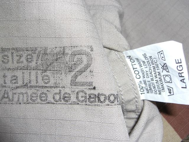 """Gabon """"T-Pattern"""" Aaa006bwv2"""