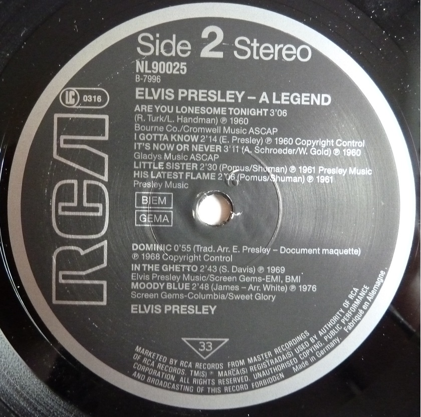 ELVIS PRESLEY - A LEGEND Alegend87side20muoi