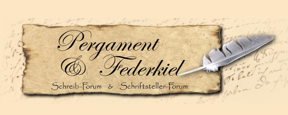 """BANNER für Schreibforum """"Pergament & Federkiel"""" Banner-pergamentfederktn0t"""