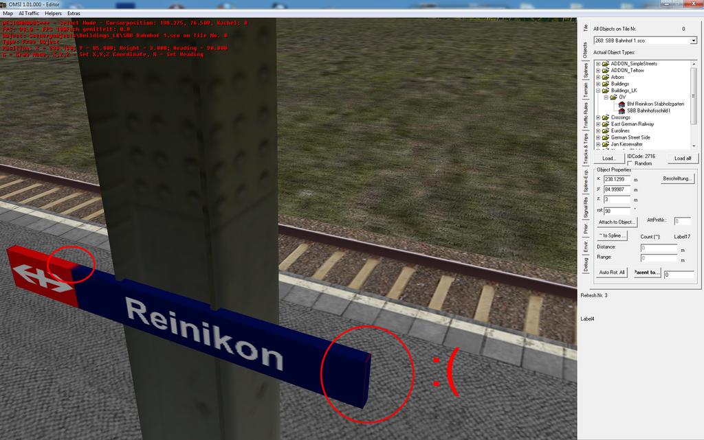 Textur in OMSI leicht verschwommen und z.T an falscher Stelle Bild993942q