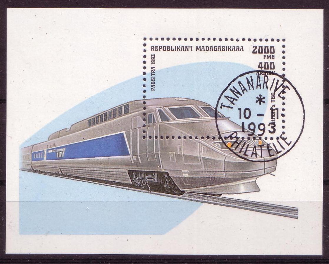 Eisenbahn Blocktansaniaeenc