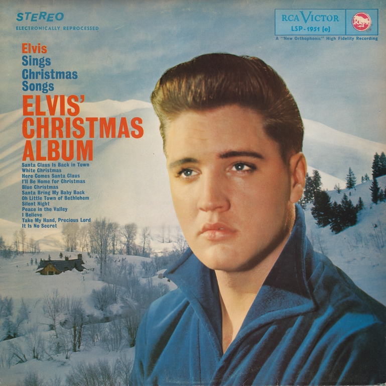 ELVIS' CHRISTMAS ALBUM (1964) Christmas60thstereofryxkxr