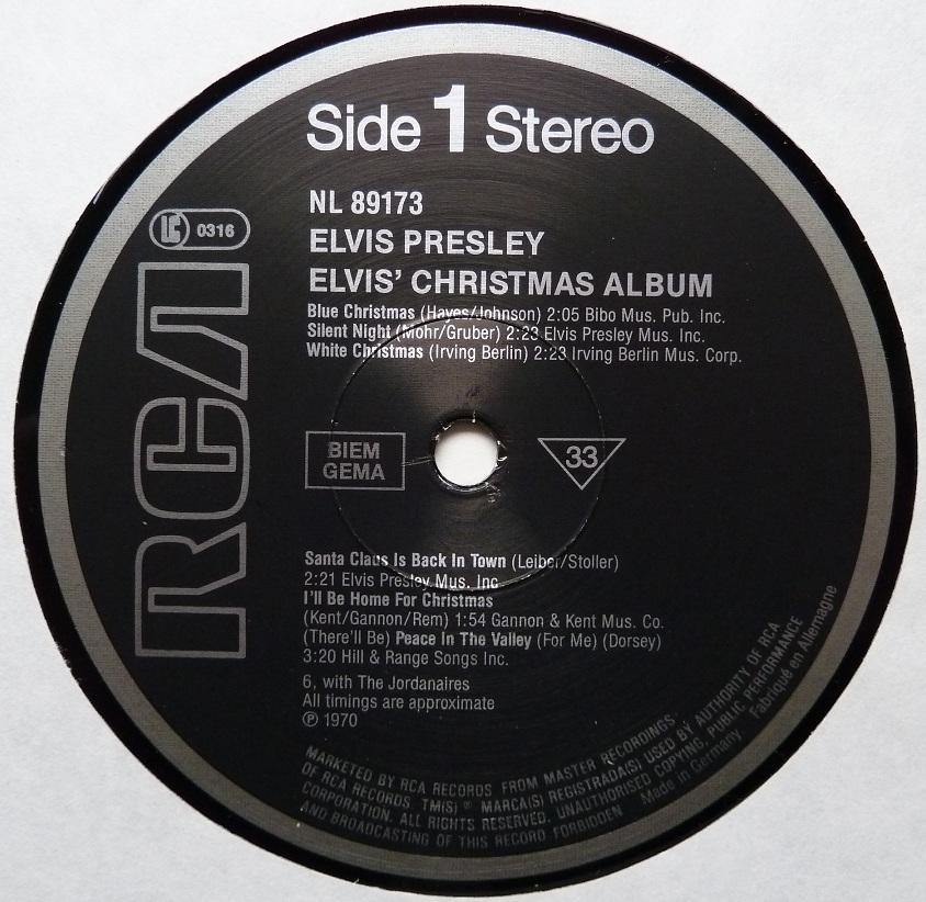 ELVIS' CHRISTMAS ALBUM (1970) Christmasalbum84side1dxah8