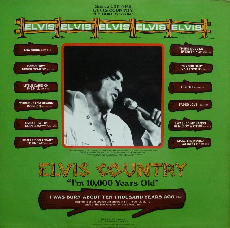I'M 10,000 YEARS OLD - ELVIS COUNTRY Country71rckseite3ajqz