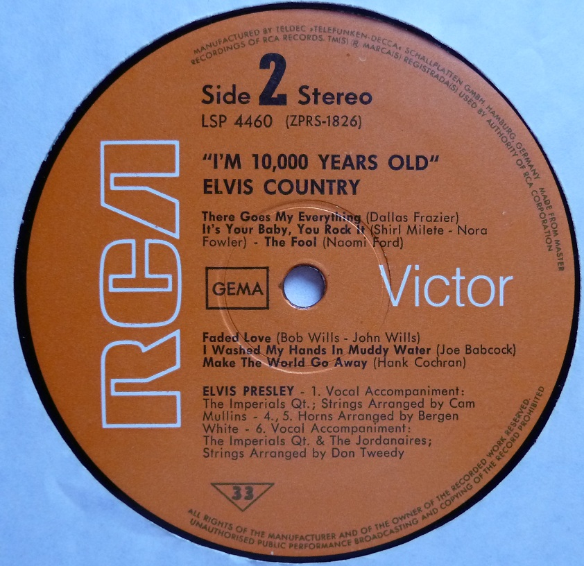 I'M 10,000 YEARS OLD - ELVIS COUNTRY Country71side2t0jmr