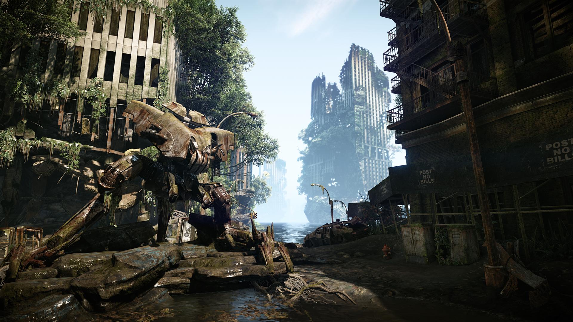 [Tópico Oficial] CRYSIS 3, veja agora o tenso TRAILER do jogo que sai em 2013 Crysis3screenshotcity3skat