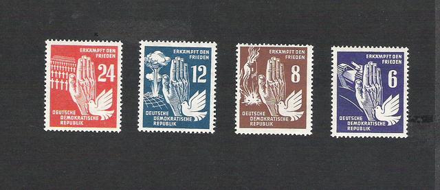 DDR Postfrisch vom Anfang bis zum Ende und FDC`s I Ddr125fu04