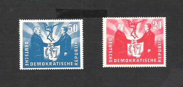 DDR Postfrisch vom Anfang bis zum Ende und FDC`s I Ddr15s6uaf