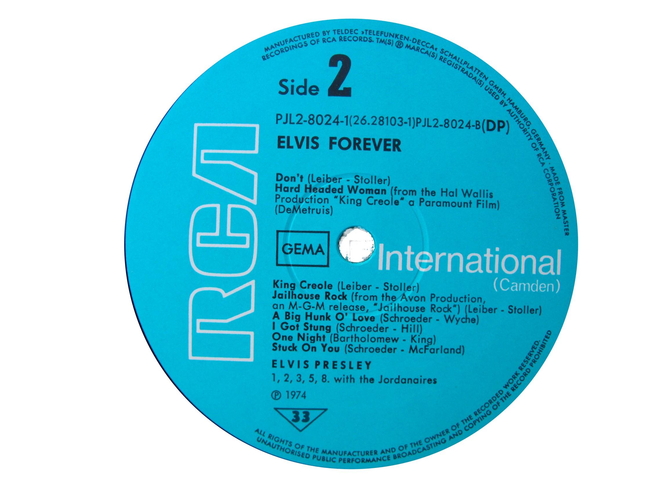 ELVIS FOREVER - 32 HITS Efside219741dfgx